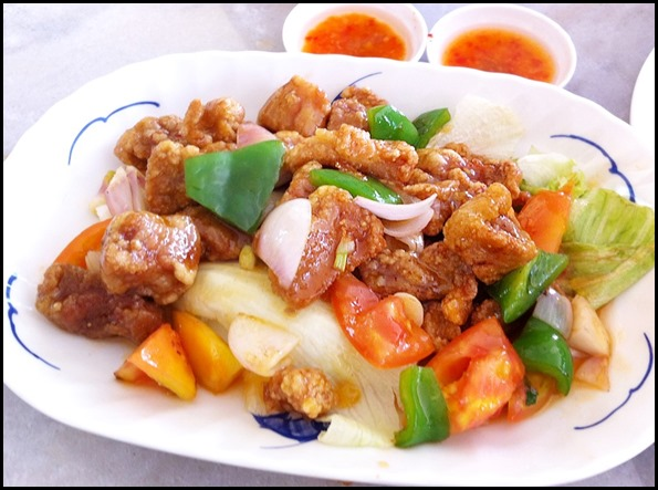Di Wei Teochew Restaurant - Sweet and Sour Pork