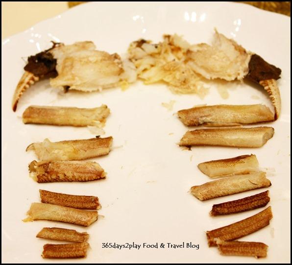 Li Bai Sheraton - Traditionally Steamed Hairy Crab (1)