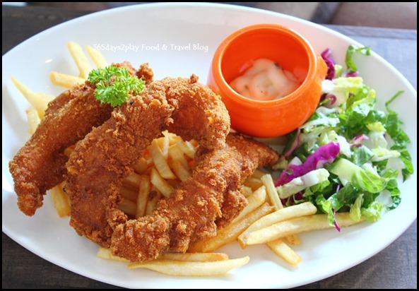 Roosevelt Cafe - Crispy Breaded Fish and Chips $18