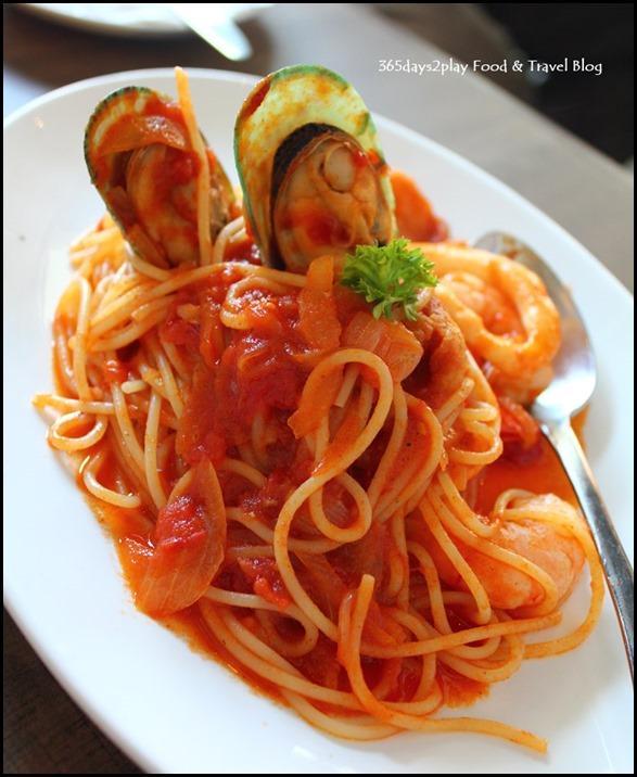 Roosevelt Cafe - Seafood Spaghetti $15