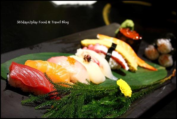 Shima Restaurant -10 Kinds of Sushi Moriawase $75