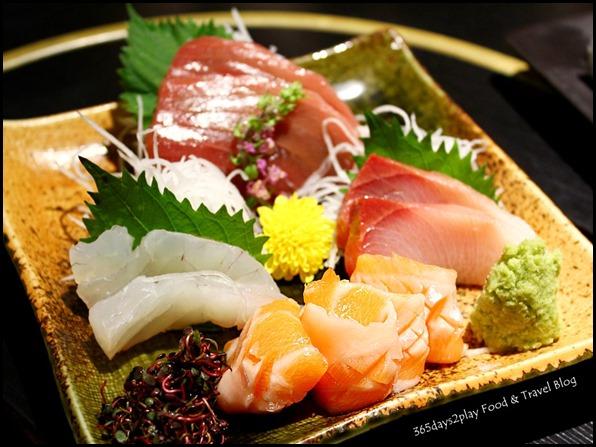 Shima Restaurant - 4 Kinds of Sashimi Moriawase $45