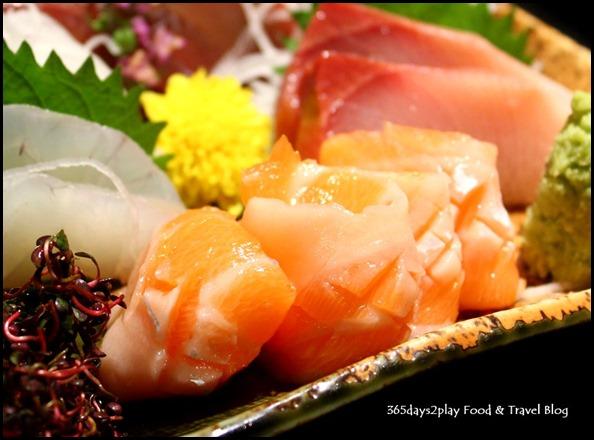 Shima Restaurant - Salmon Sashimi