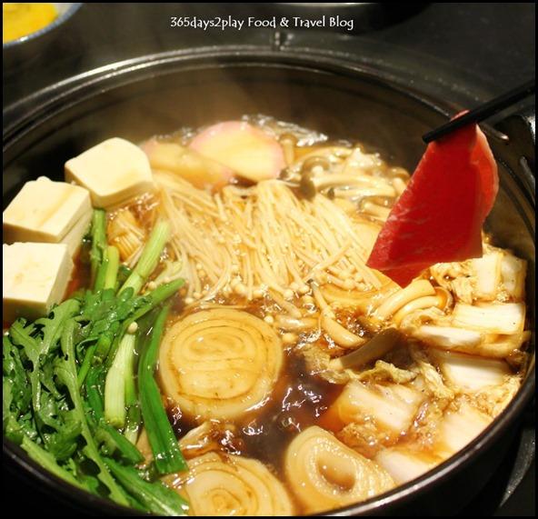 Shima Restaurant - Sukiyaki Set with US Ribeye $80 (1)