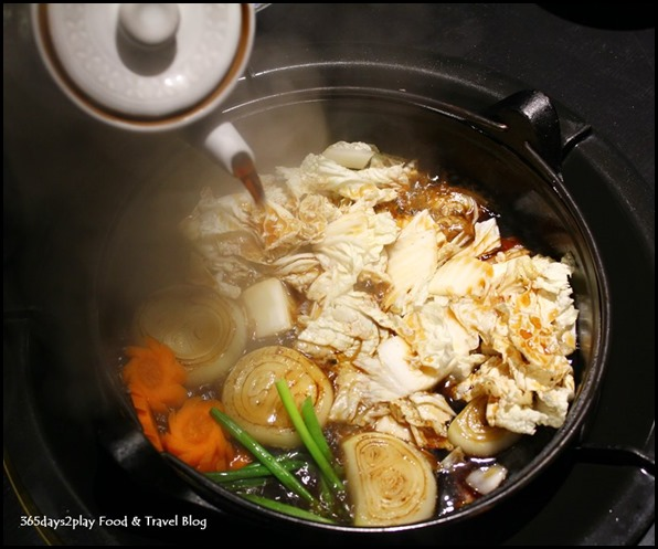 Shima Restaurant - Sukiyaki Set with US Ribeye $80 (2)