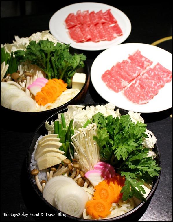 Shima Restaurant - Sukiyaki Set with US Ribeye $80