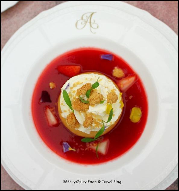 Antoinette - Baba aux Fraises (Strawberry Baba) $18 (2)