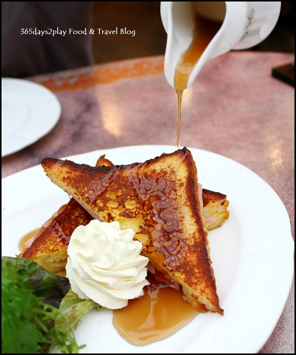 Antoinette - French Toast with Ham and Cheese $14 (1)
