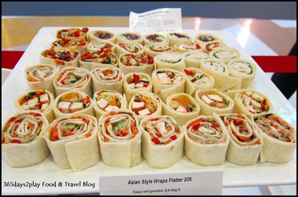 Asian Style Wraps Platter
