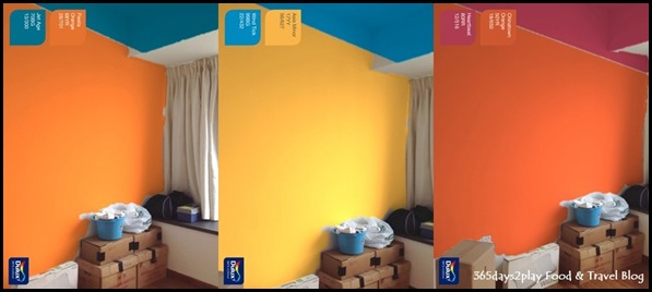 Dulux Visualizer Two colours