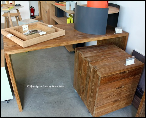 Ethnicraft - Desk and Drawers
