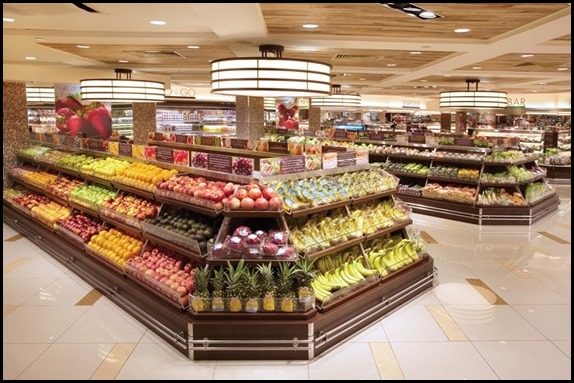 Market Place (Raffles City) - produce section