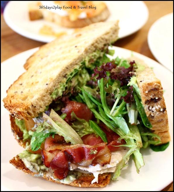 Oh Deli - Chicken Avocado Sandwich $7 (1)