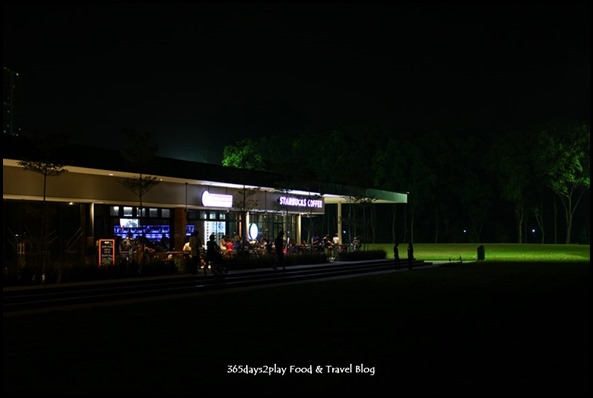 Parkland Green at Night