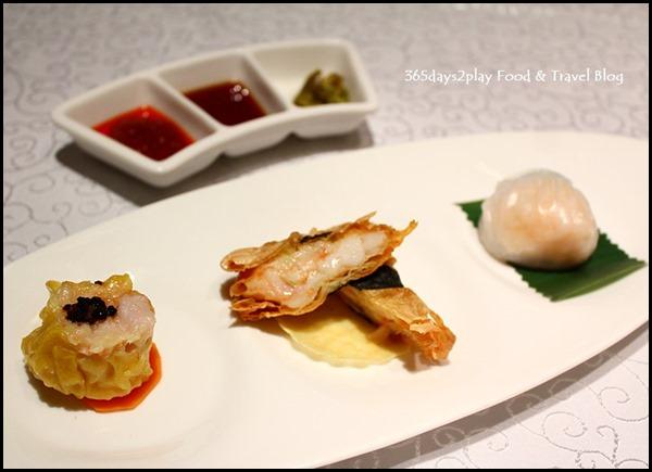 Yan Ting St Regis - Trio of Appetisers