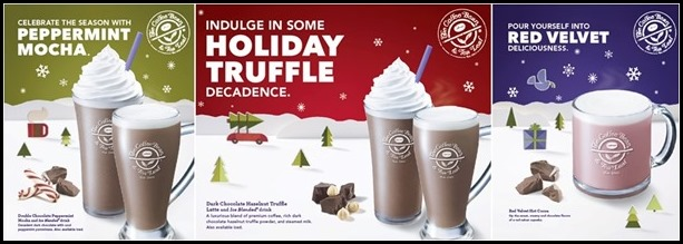 Coffee Bean Christmas Drinks