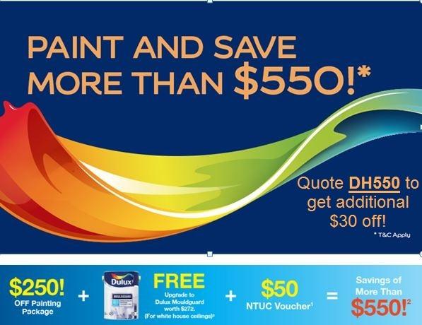 Dulux Paint Discount Vouchers