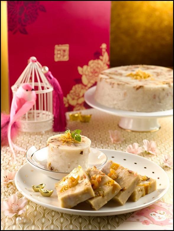 Festive Cake - Yam Cake and Radish Cake