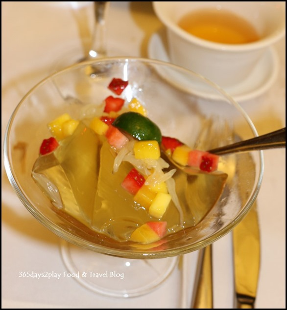 Quayside Seafood Chilled Lemongrass Jelly