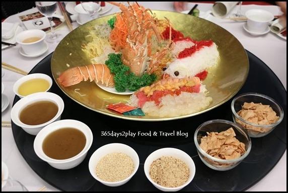 "Quayside Seafood ""Lou Hei"" yu-sheng (Lobster, Tuna, Salmon Roe, Conch and Sea Urchin) (1)"