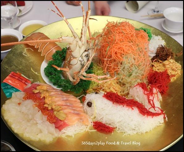 "Quayside Seafood ""Lou Hei"" yu-sheng (Lobster, Tuna, Salmon Roe, Conch and Sea Urchin) (2)"