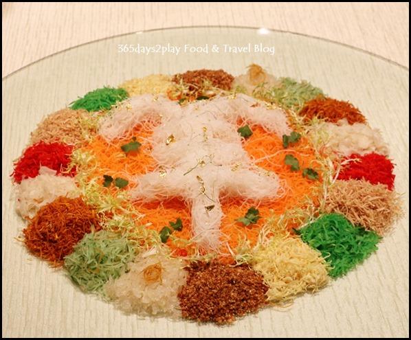 Sheraton CNY 2015 - Lobster Yu Sheng Lo Hei Platter (2)