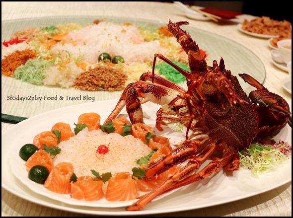 Sheraton CNY 2015 - Lobster Yu Sheng Lo Hei Platter (4)