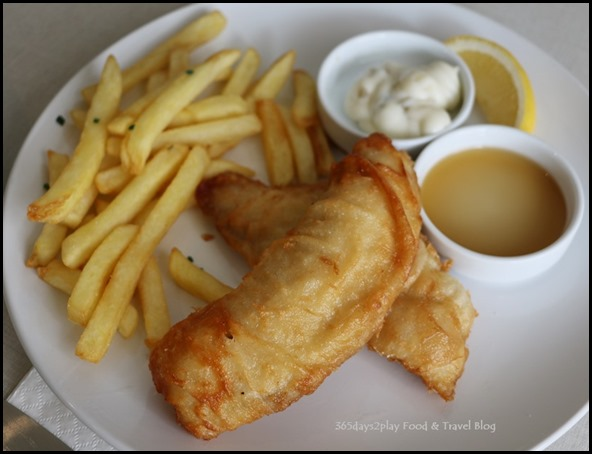 Hyde and Co - Beer Battered Snapper $13.90