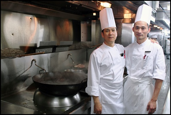 JW Marriott Hotel Hong Kong Guest Chefs - Chef Chow and Chef Liu