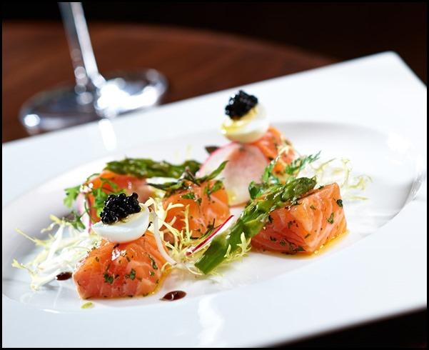 Marinated Scottish Salmon