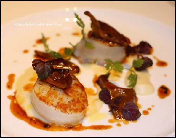Zafferano - Pan-seared hokkaido scallops (2)