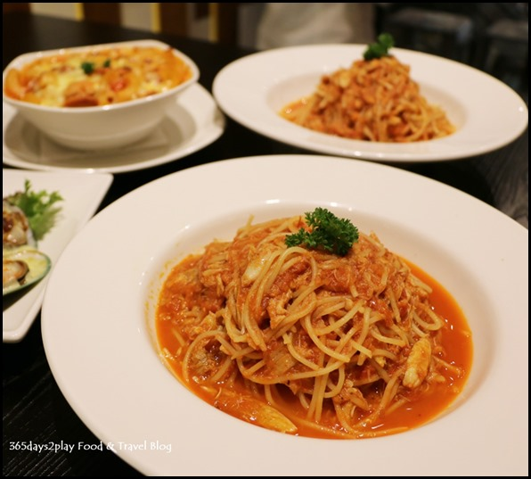 Coffee Nowhere - Chilli Crab Spaghetti $14 (2)