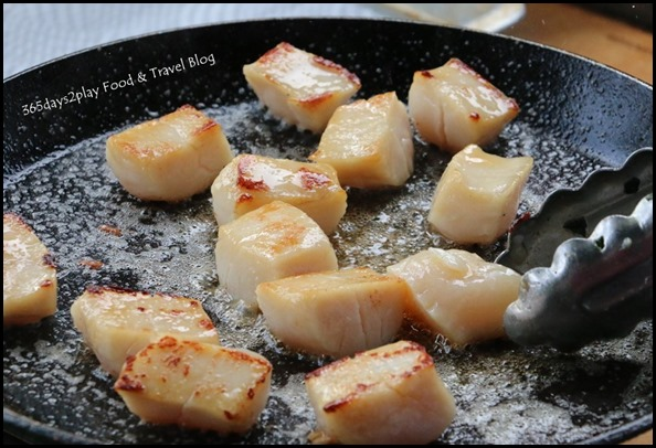 Pan Seared Scallops (2)
