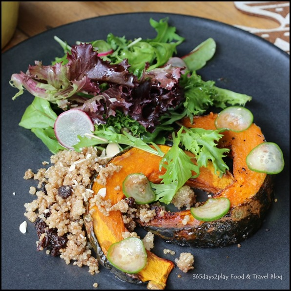 AEIOU Cafe - Glazed Pumpkin and Quinoa $14.90  (3)