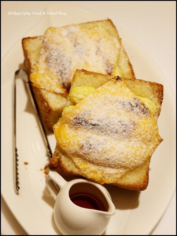 Dazzling Cafe - Cheddar Cheese Danish Honey Toast $17.90  (2)