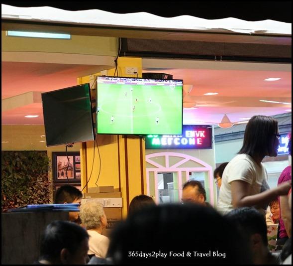 Enak Enak HongKong Teahouse televised EPL Matches