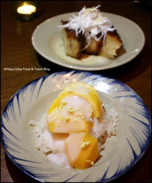 Long Chim - Mango and sweet sticky rice $13