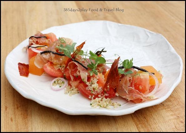 Tomato and Jamon Ham Appetiser (7)