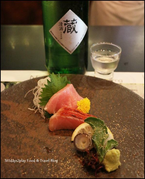 IKYU - Nihonkai sansyu sashimi & Kura Jyunmai GinJyo (Ichishima) (1)