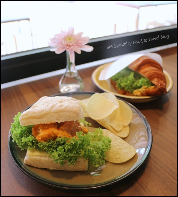 Percolate - Tom Yum Grilled Chicken on Ciabatta $10 (2)
