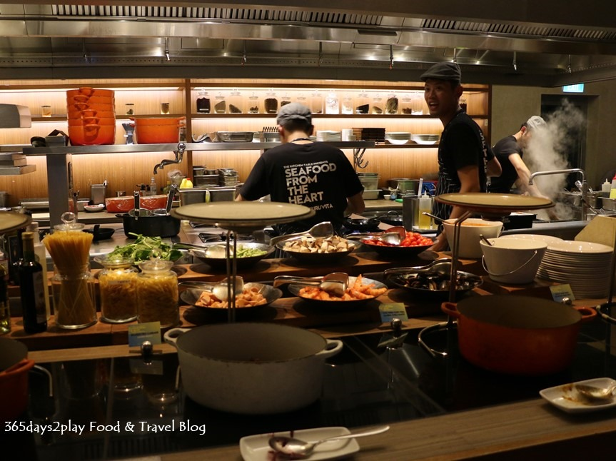 W Singapore Kitchen Table Peter Kuruvita S Seafood From The