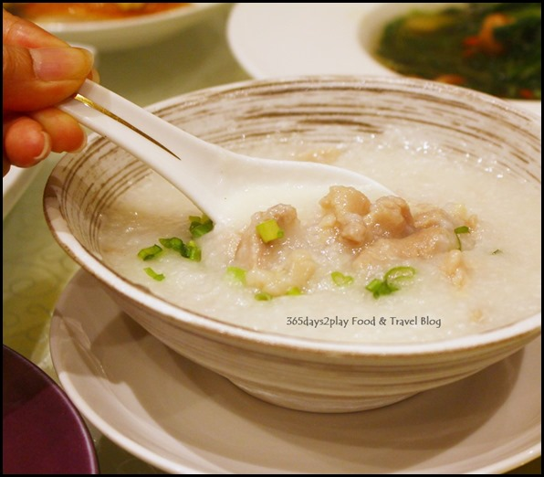 Fengshui Inn Resorts World Singapore - Shredded Chicken Porridge