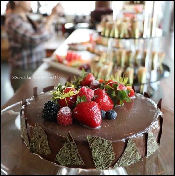 Zafferano Brunch - Chocolate Cake (1)