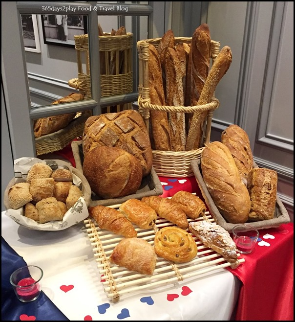 Paul Singapore -  Baguettes and Breads