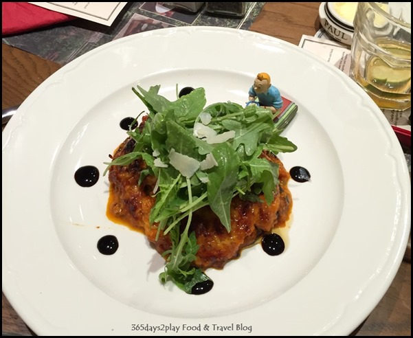Paul Singapore -  Grilled eggplant and tomato sauce layered with cheese (2)