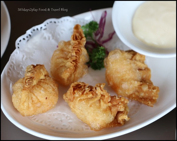 Sichuan Douhua - Crispy Prawn Dumpling with Salad Sauce 3 for $5