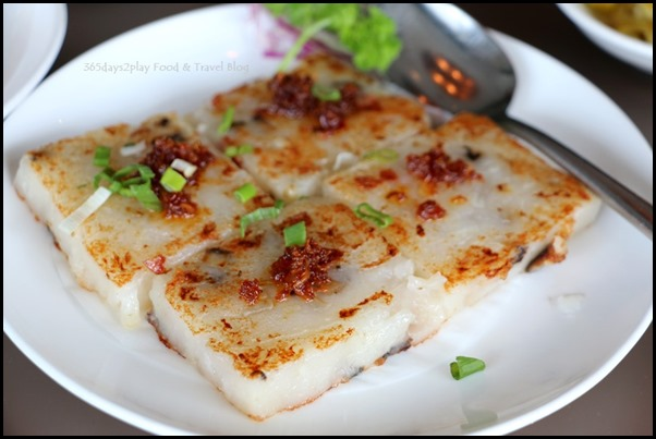 Sichuan Douhua - Pan fried Carrot Cake in XO Sauce 3 for $5