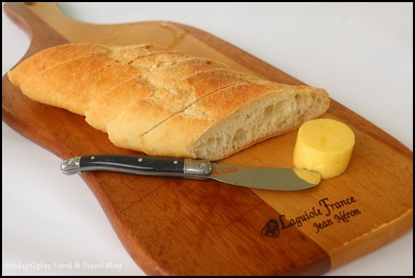 Aravina Estate - French bread and butter
