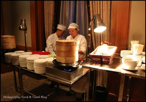 Four Seasons Hotel Wedding Dinner Peking Duck station
