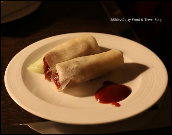 Four Seasons Hotel Wedding Dinner Peking Duck